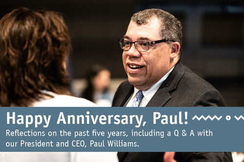 Q&A with Paul Williams